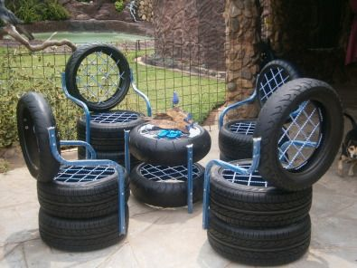 Tire chair tires pinterest chairs and tire chairs for How to make tire furniture