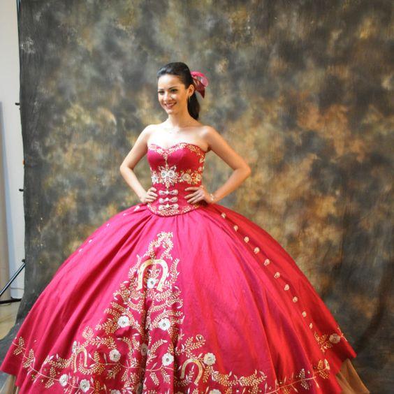 Vestidos De 15 Anos Charros Vestido De Quincea 241 Era