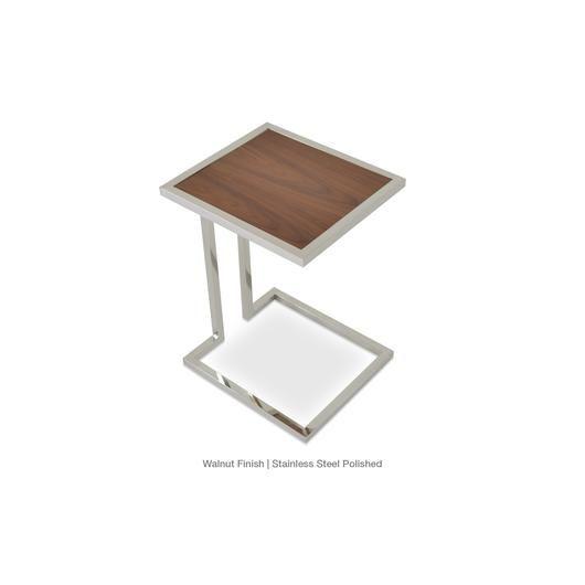 Sohoconcept Hudson End Table End Tables Table Walnut Veneer