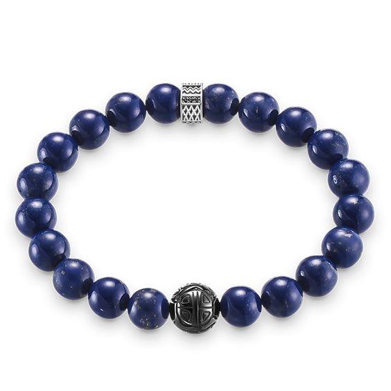 Bracelets en cuir et argent - homme - THOMAS SABO