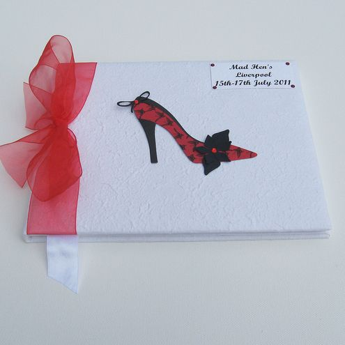 Hen Night Guest Book - for Shoe lovers! £24.95