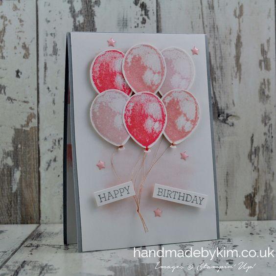 International Blog Hop A Bunch of Balloons Birthday Cards Make – International Birthday Cards