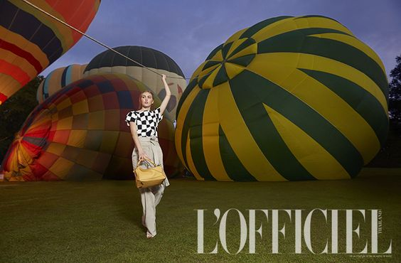 Flying High in L'Officiel Thailand Jan'15.LOEWE