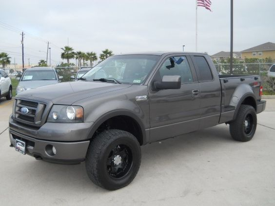 New ford f150 flareside 2007 ford f 150 fx4 supercab for Emmons motors pasadena tx