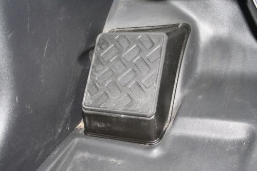 Toyota FJ Cruiser Footrest Custom CNC Machined Aluminum Dead Pedal