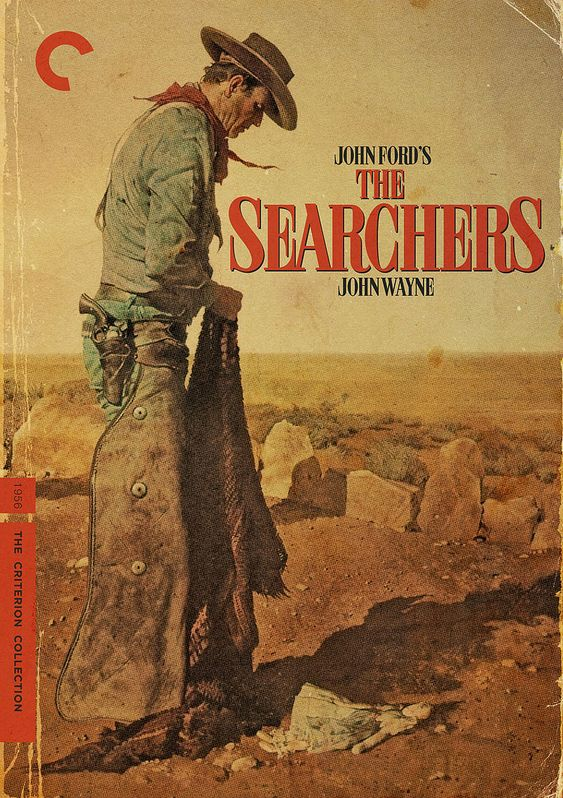 THE SEARCHERS, 1956. Directed by John Ford, starring John Wayne.