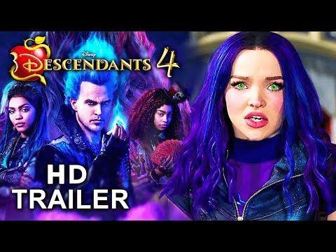 Descendientes 4 Teaser Oficial 2020 Youtube Peliculas En Español Descendientes Peliculas En Netflix