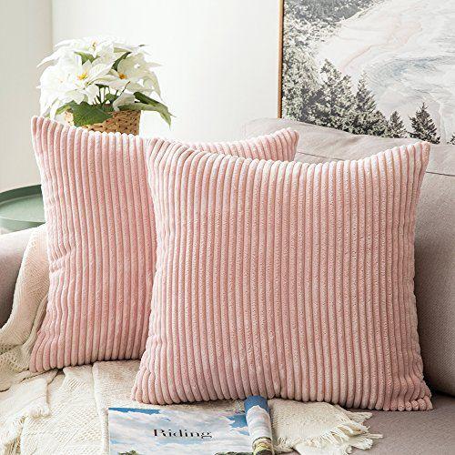 Soft Pillowcase,Soild Square Throw