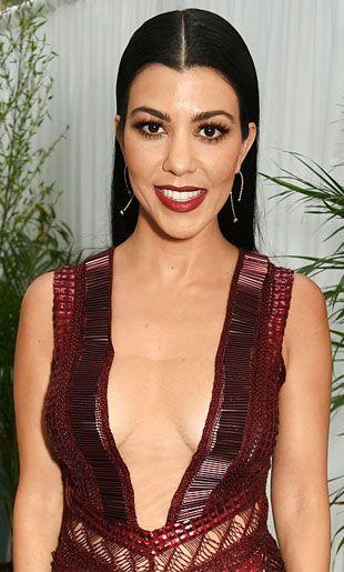 Kourtney Kardashian revela su rutina de belleza