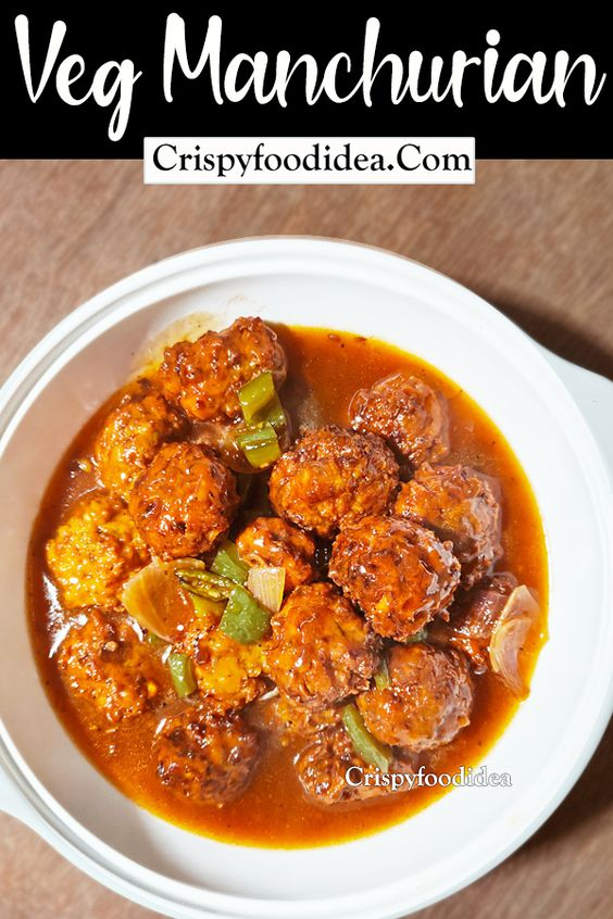 Veg Manchurian- a perfect Keto Dinner Recipe