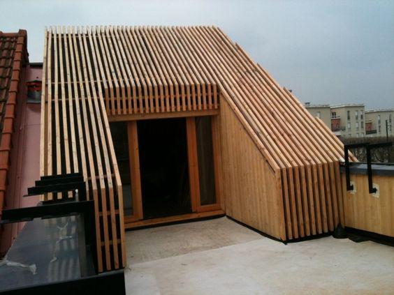 Construction terrasse2 extension bois maison ville for Agrandissement maison 59