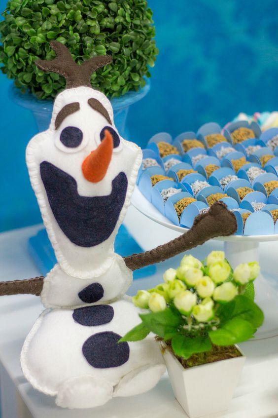 Olaf em feltro ⛄️