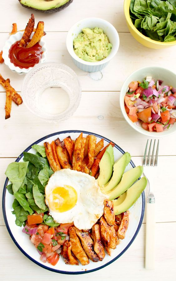 Mexican Paleo Super Food Bowl by honyandfigs  #Super_Food #Mexican #Healthy