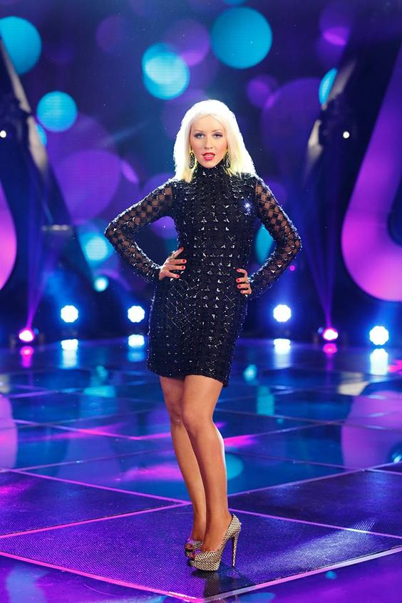 Christina ~ The Voice wow she looks amazing!