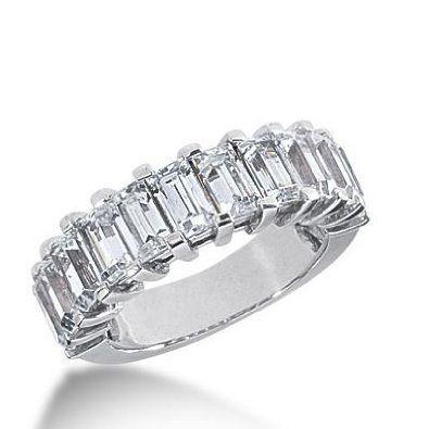 Platinum Diamond Anniversary Wedding Ring