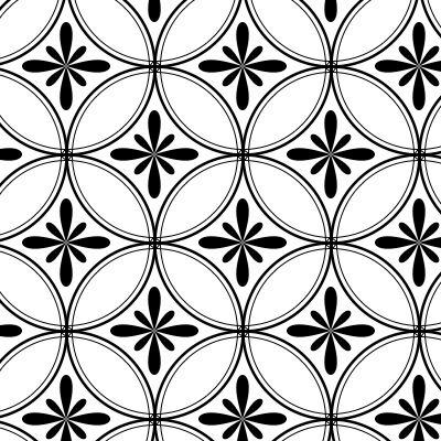 花七宝の幾何学模様
