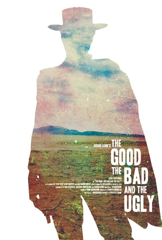 Minimal Movie Posters — The Good, The Bad, And The Ugly by Jeremy Burns ...