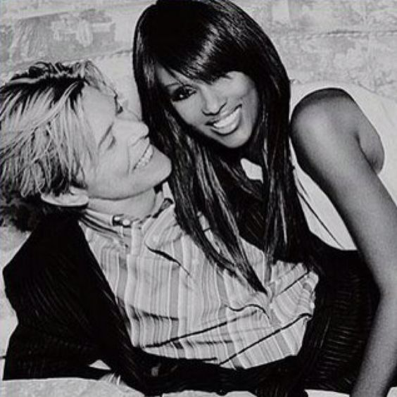 Bowie and Iman. Perfection.