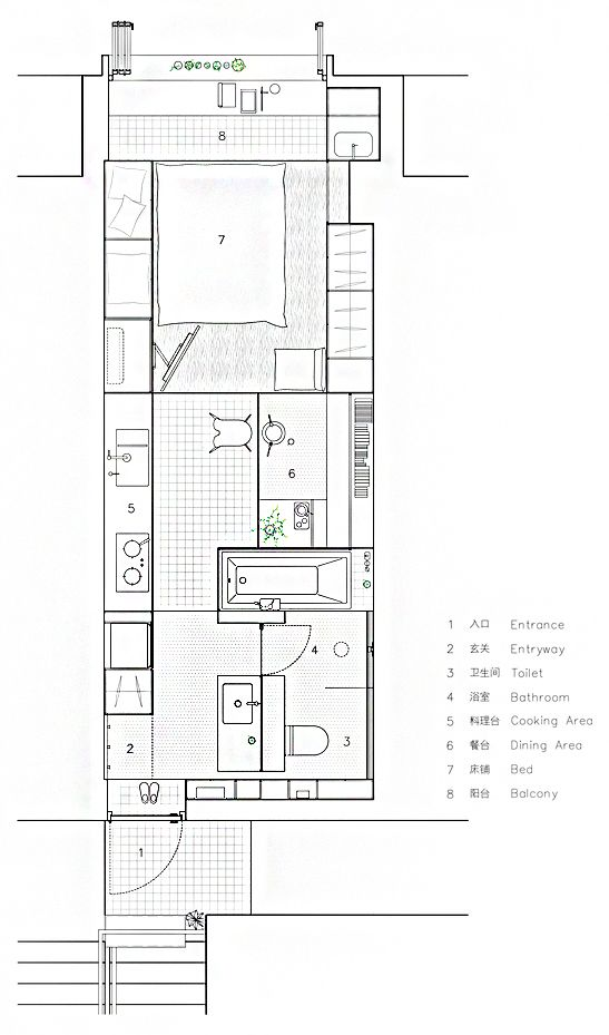 Gallery Of House Plans Under 50 Square Meters 30 More Helpful Examples Of Small Scale Living 51 Small House Plans Small Apartment Plans How To Plan