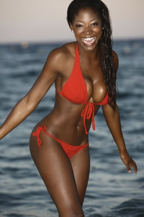 Black Girl Bikini Models