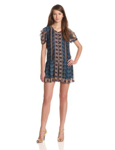 Anna Sui Women's Ombre Stripe Print Georgette Romper, Indigo Multi, 12 US Anna Sui http://www.amazon.com/dp/B00A0IQMY0/ref=cm_sw_r_pi_dp_uXCgub0NYP3Z0