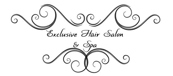 Black Hair Salon Logos