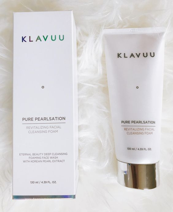 Klavuu: Pure Pearlsation Revitalizing Facial Cleansing Foam Review - Dreaming to inspire