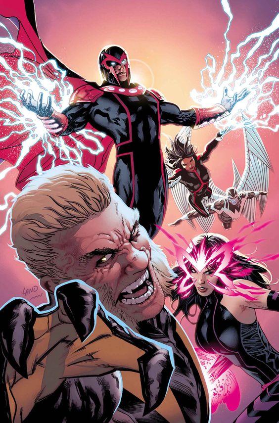 UNCANNY X-MEN #1 - GREG LAND