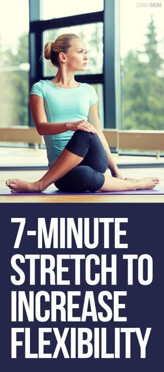 For a good stretch, here are 7 moves to make you more flexible.