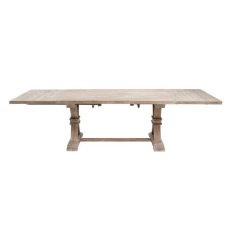 Archer dining table from z gallerie dining room ideas for Z gallerie dining room table