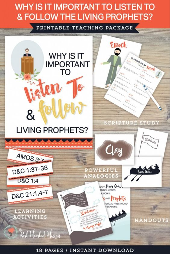 teachings living prophets Get ready for your next ezra taft benson lesson with this study guide for chapter 11: follow the living prophet.