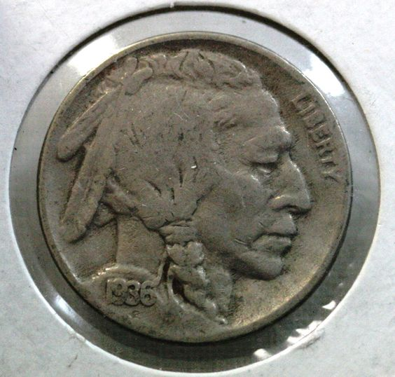 1936 Buffalo Nickel - 3/4 Horn - Indian Head Coin - Coins - Coin Collection - Collectible - Coinage - Fine to VF Coin - Christmas Gift by EarthlyCrystals33 on Etsy