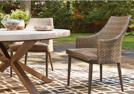 CANVAS Seabrooke Wicker Patio Chairs