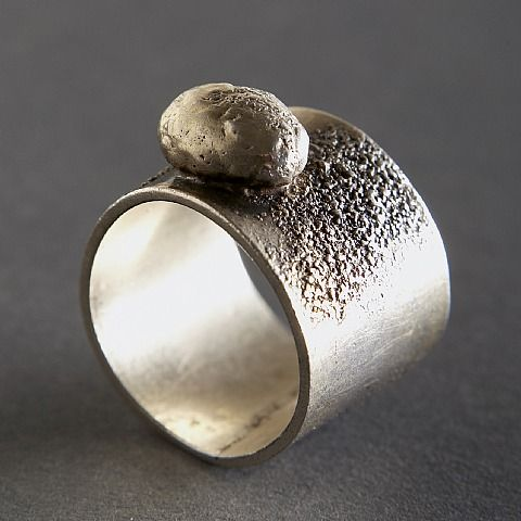 Ring | Harry Bertoia (American, 1915–1978).  Sterling silver.  ca. 1955: