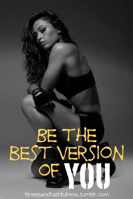 Be the best version of you. You're not in competition with anyone else. #workout #exercise #fitness