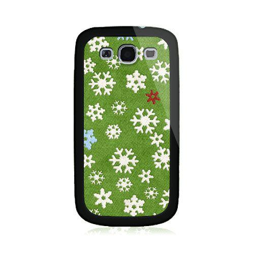 Snowflake Green Samsung Galaxy S3 Case