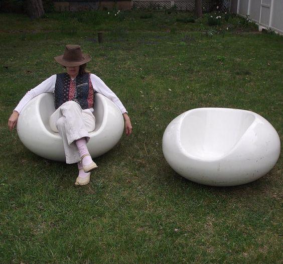 Eero Aarnio Pastil Chairs Gyro Chairs Vintage Floating