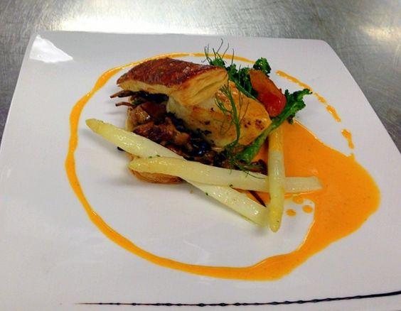 Asparagus Sea Bass And Beds On Pinterest
