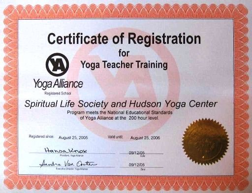 Awesome Yoga Gift Certificate Template Free In 2021 Training Certificate Yoga Teacher Training Certificate Template