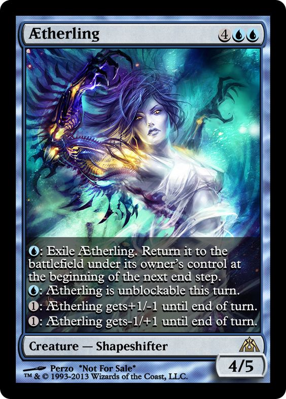 Aetherling alter | MTG Alters | Pinterest | Projects ...