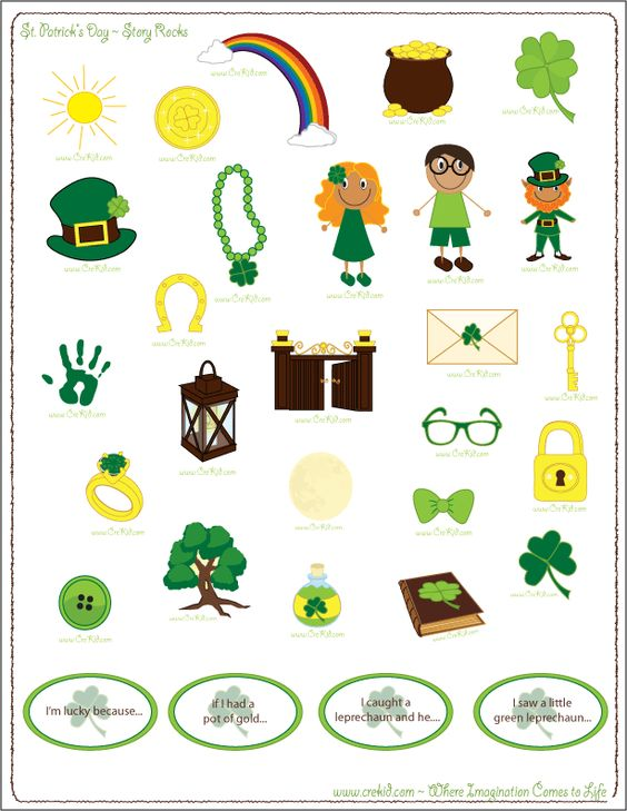 It's just a photo of Accomplished Printable Leprechaun Story
