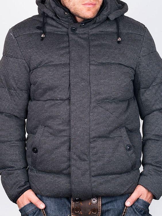 Men Winter Jackets - EMT 2 Dark Grey Winter Jacket - price €49.00 ...