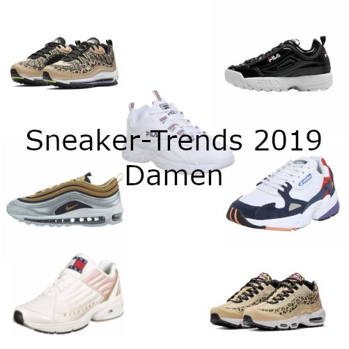 Die Sneaker Trends 2019 für Damen. Für die Sneaker Trends