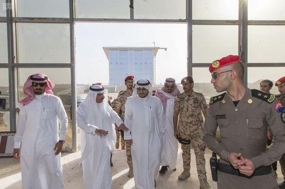 نائب أمير منطقة الجوف يتفقد مشروع مبنى الأمانة بالمنطقة صحيفة وطني الحبيب الإلكترونية