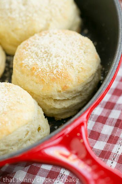 Buttermilk Goat Cheese Biscuits | Tender, flaky biscuits with an extra ...