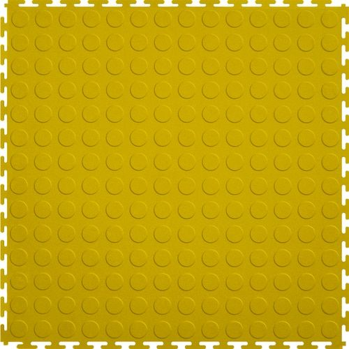 Perfection Floor Tile Coin 8 Piece 20 1 2 In X 20 1 2 In Yellow Raised Coin Garage Floor Tile Lowes Com In 2020 Garage Floor Tiles Tile Floor Flooring
