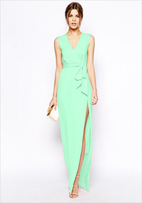 10 Wedding Guest Dresses for Under $60 - Wedding- Mint green and ...