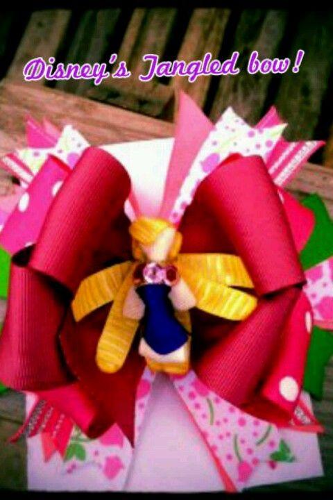 Improvised tangled bow: )