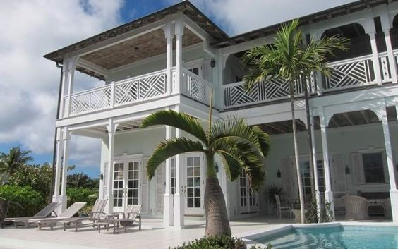 Built To The Specifications Of An Old Bahamian Villa, This Home Is