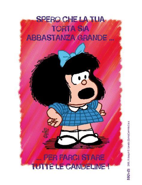 Biglietto Puzzle Mafalda Buon Compleanno Compleanno